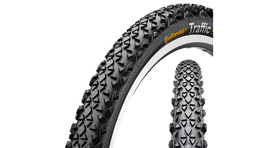 Continental Traffic 26x1.9 Reflex MTB band zwart
